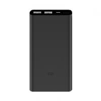 Внешний аккумулятор Xiaomi Mi Power Bank 2S 10000 mAh (2 USB) Black (Черный)
